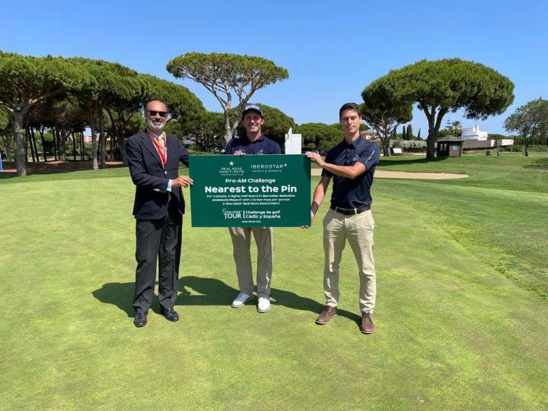 Alfredo Garcia Heredia de Gijón ganador del premio Nearest to the Pin | Pro-Am Tour Challenge