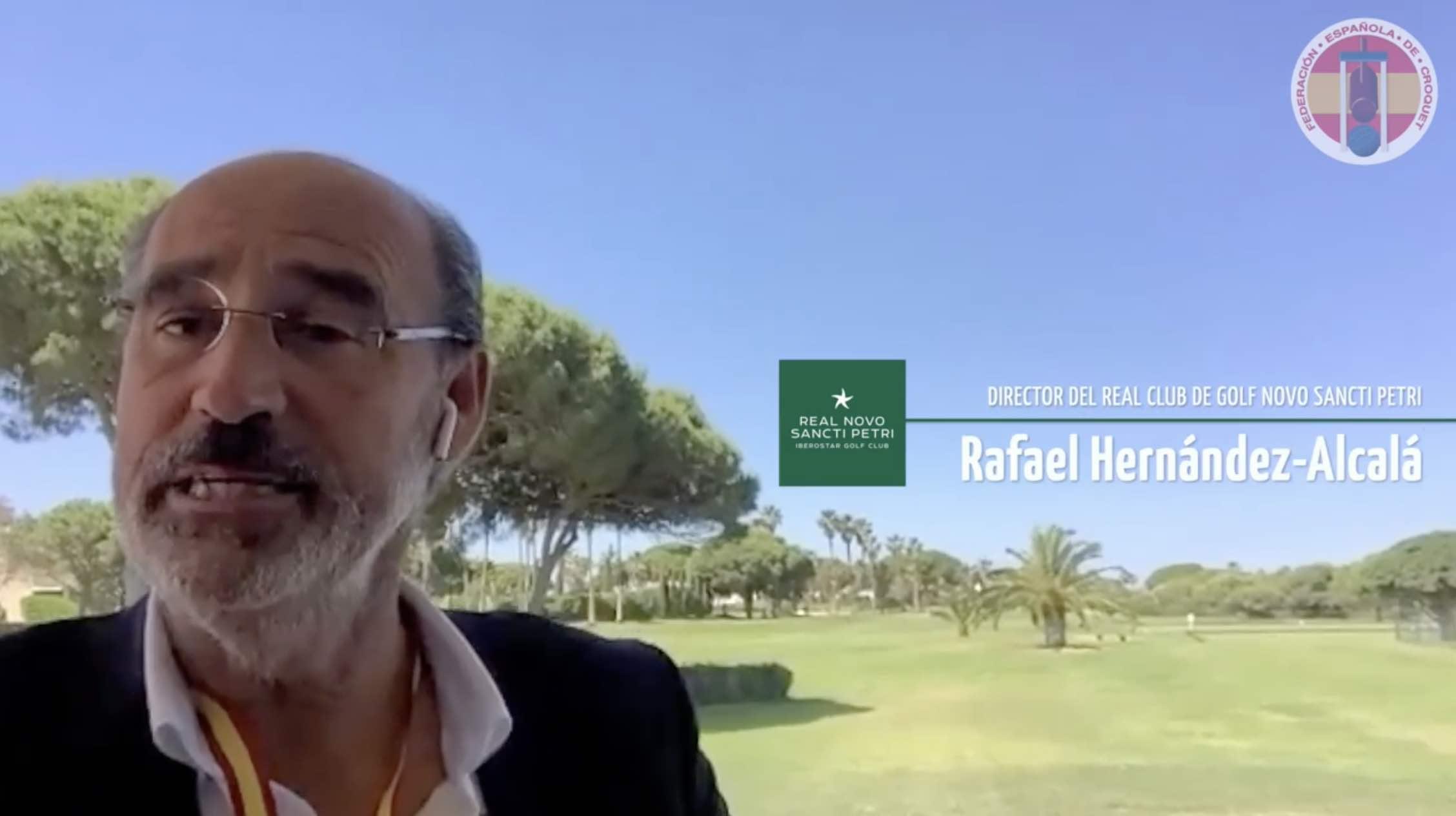 Entrevista a Rafael Hernández-Alcalá por la Federación Española de Cróquet
