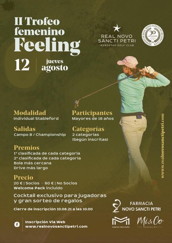 II Trofeo Femenino Feeling - Real Novo Sancti Petri