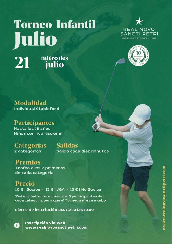 Torneo Infantil Real Novo Sancti Petri