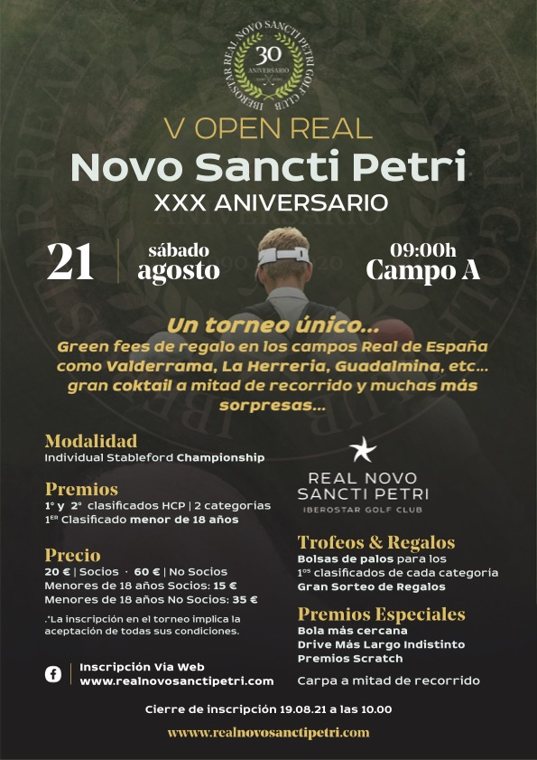 V Open Real Novo Sancti Petri