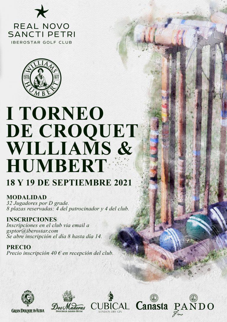 I Torneo de croquet Williams & Humbert