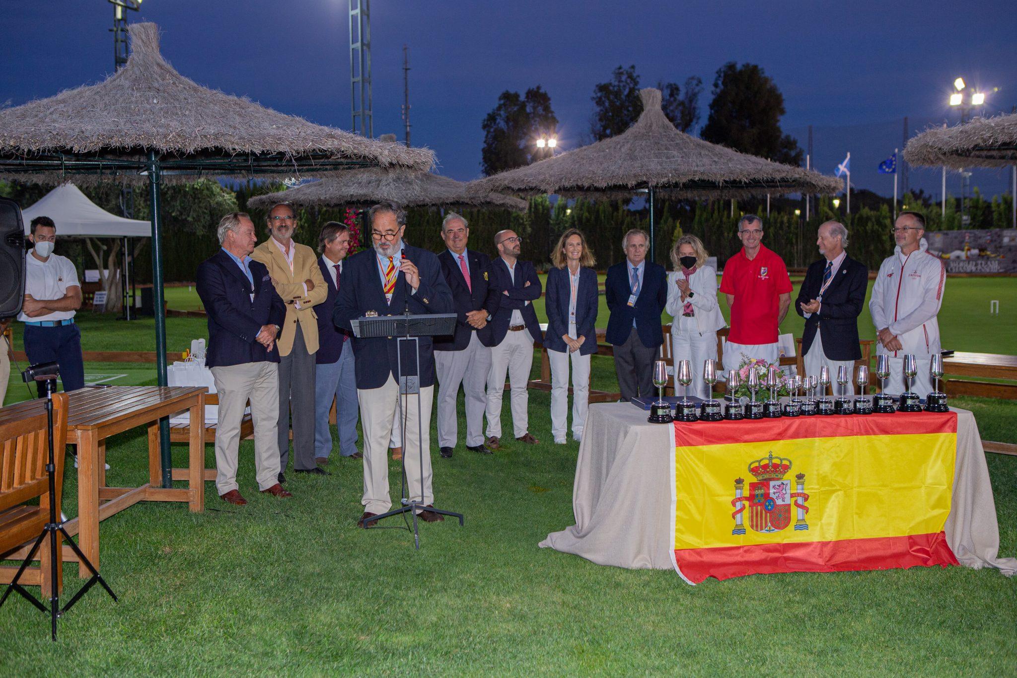III Campeonato del Mundo de Croquet por Países - Real Novo Sancti Petri 71