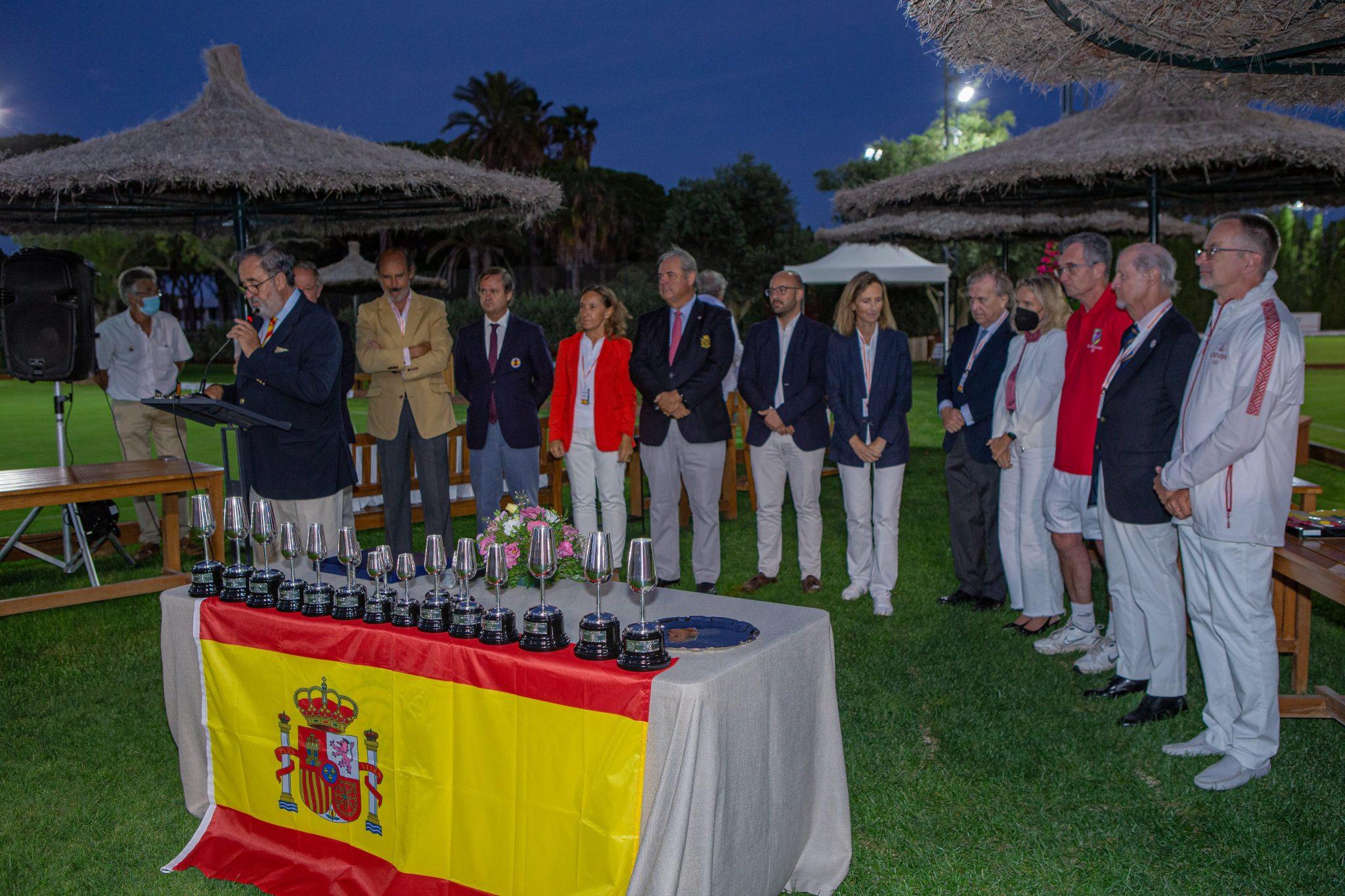 III Campeonato del Mundo de Croquet por Países - Real Novo Sancti Petri 82