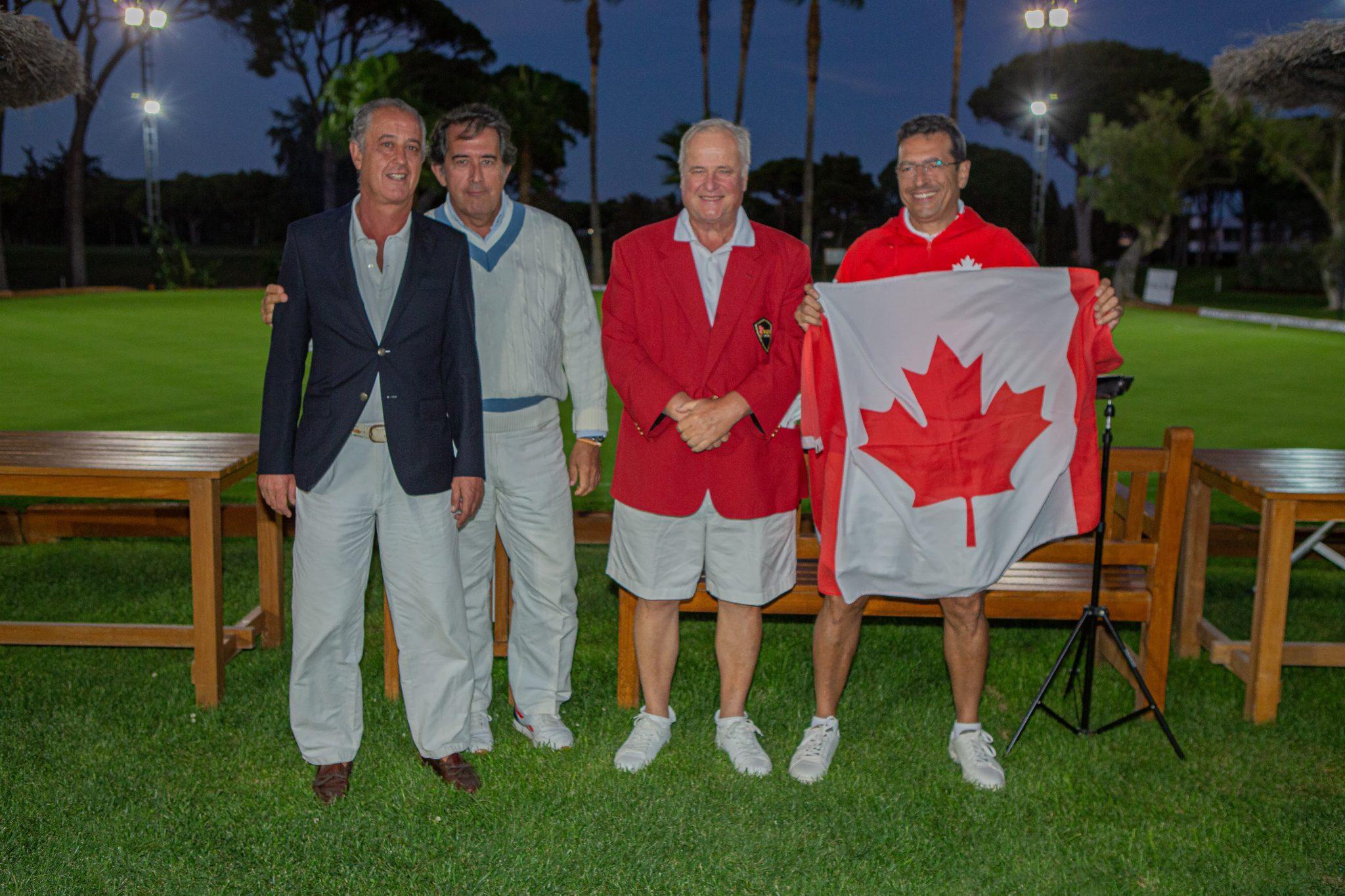 III Campeonato del Mundo de Croquet por Países - Real Novo Sancti Petri 86
